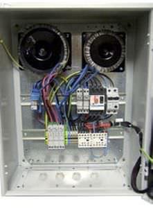 Tableau electrique filtration piscine