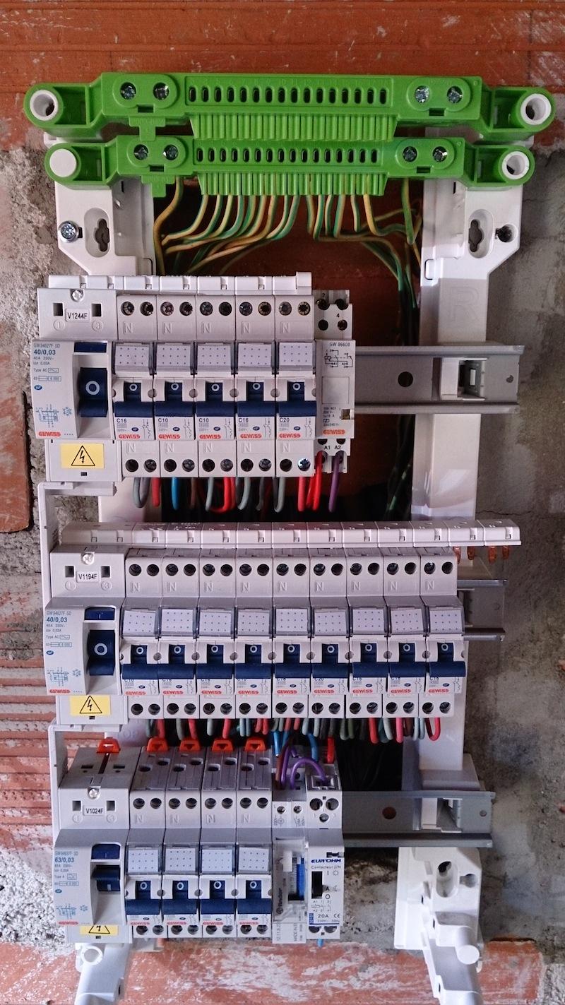 Schema tableau electrique 380