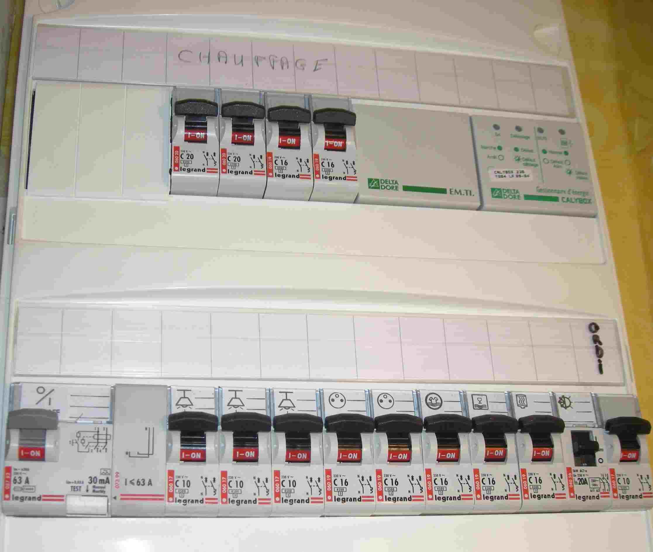Changer fusible tableau electrique aeg