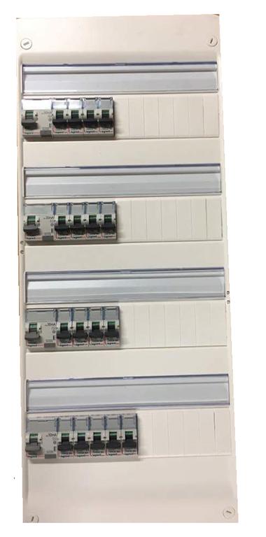 Tableau électrique pré-équipé 4 circuits legrand