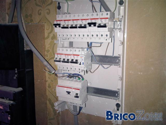 Cablage tableau electrique abb