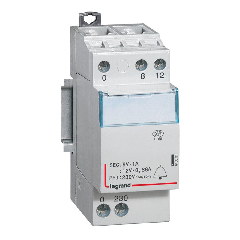 Transformateur 220v 12v sur tableau electrique