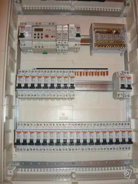 Tableau electrique o et i