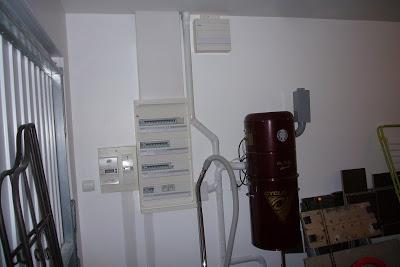 Isolation garage tableau electrique