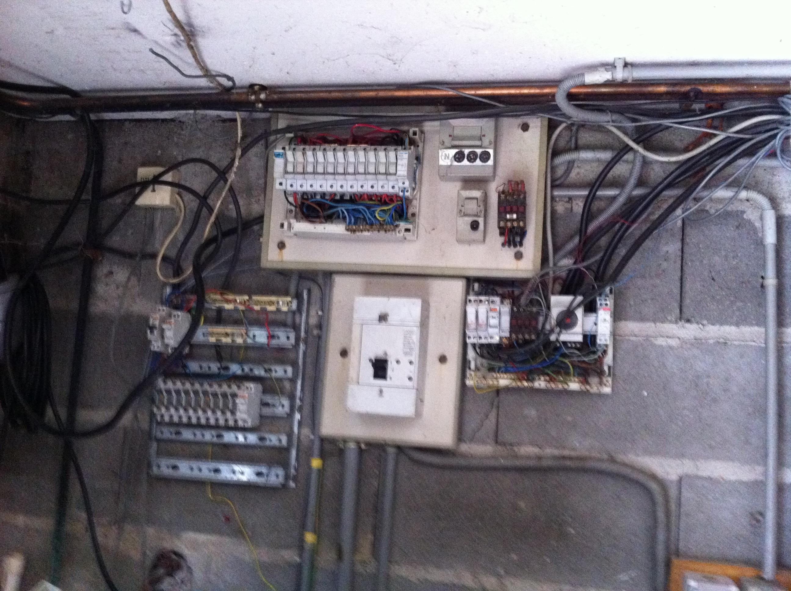 Mise en securite tableau electrique