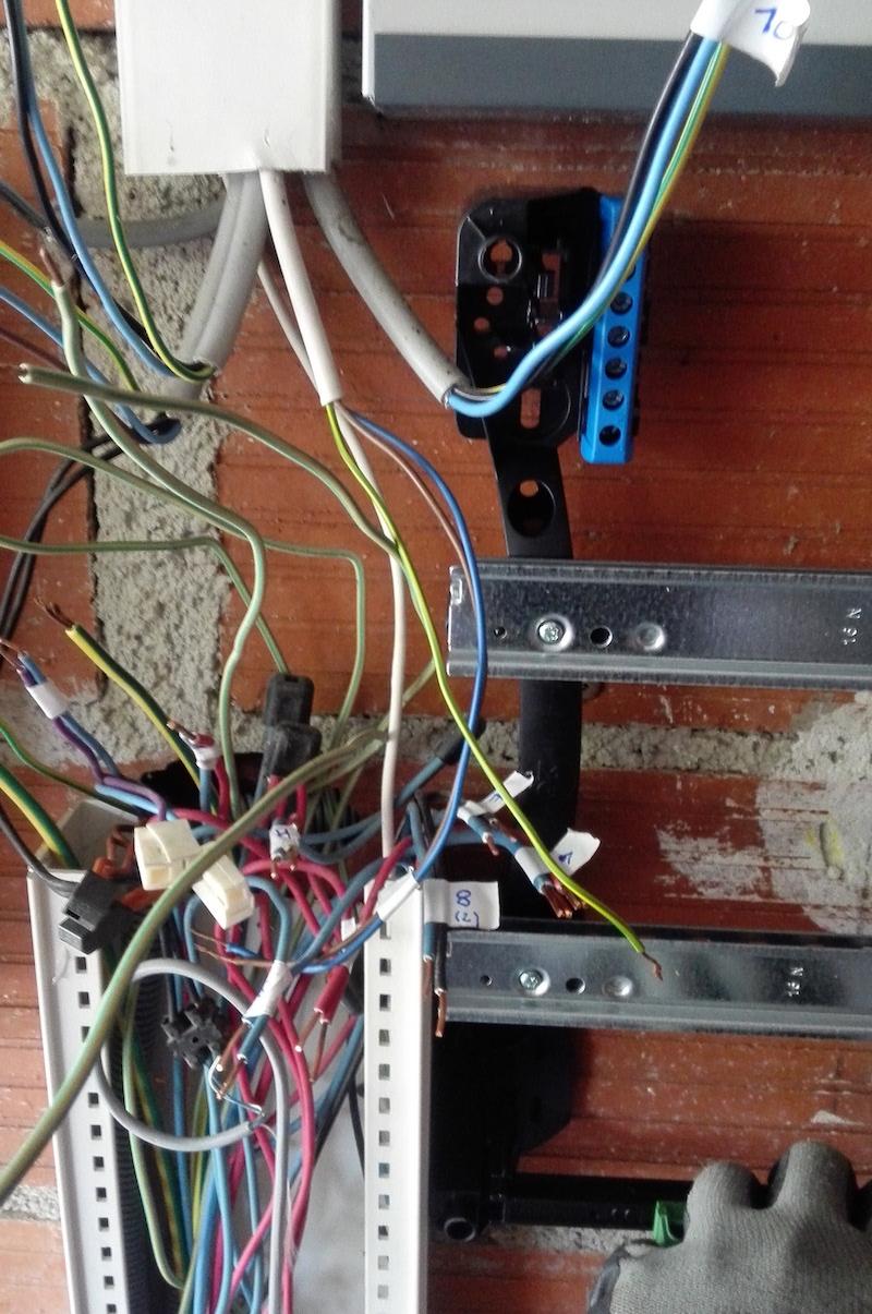 Changer tableau electrique fil trop court