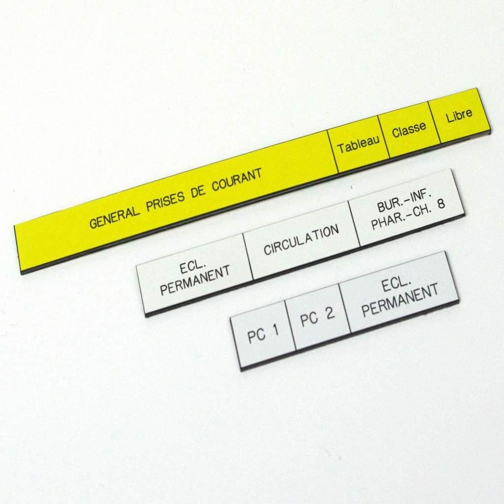 Porte étiquette tableau électrique