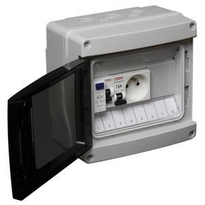 Tableau électrique atelier étanche pré-câblé