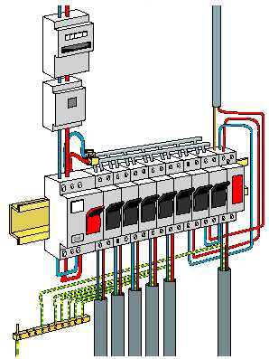 Plan d'installation tableau électrique