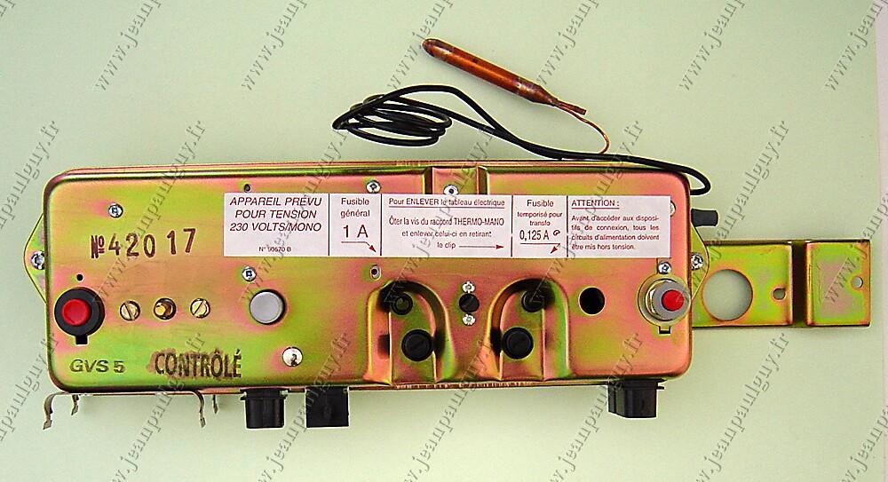 Tableau électrique chaudière elm leblanc