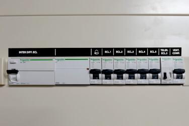 Achat etiquette tableau electrique