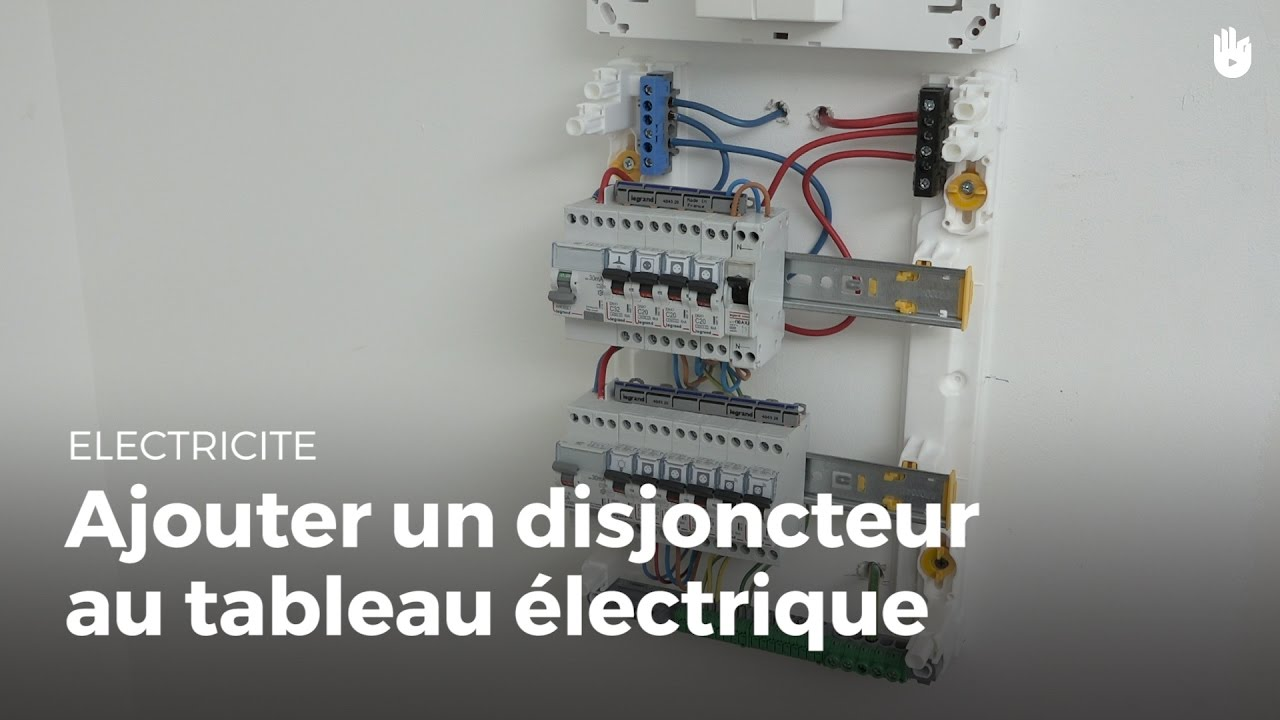 Tableau electrique + disjoncteur