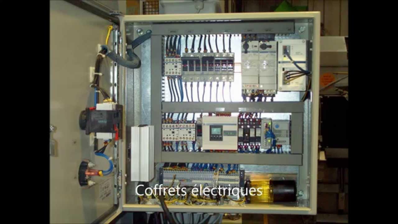 Branchement tableau electrique industriel