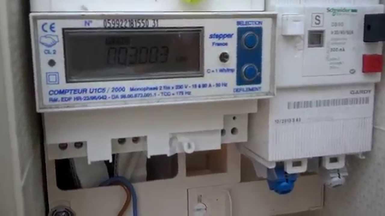 Tableau electrique remettre le courant