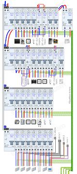 Schema cablage branchement tableau electrique