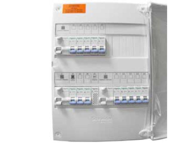 Installation tableau électrique 2 rangées