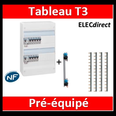 Tableau électrique pour t3