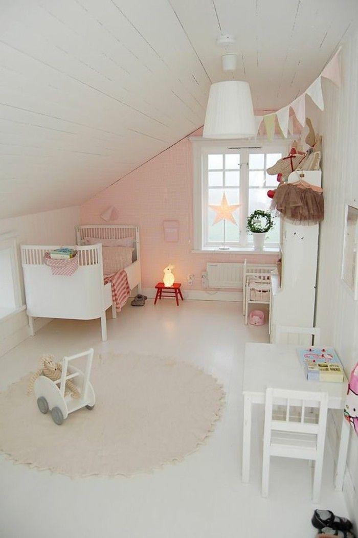 Chambre enfant peinture beige