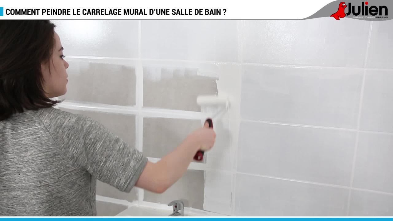 Peinture couleur lin pour salle de bain