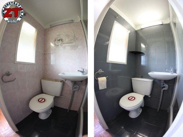 Peinture résine pour salle de bain