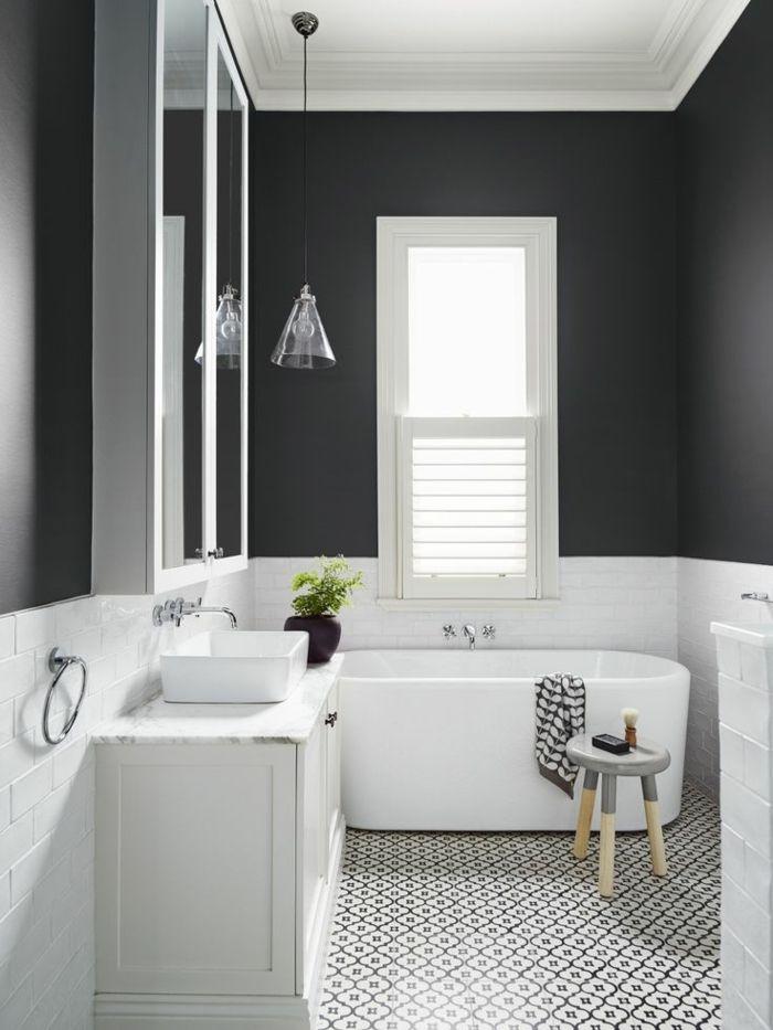 Mosaique salle de bain peinture