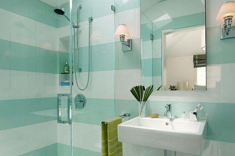 Rayure peinture salle de bain
