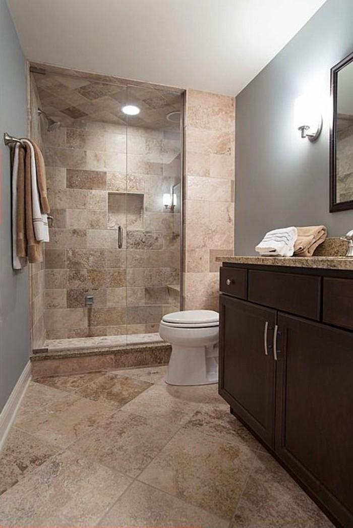 Peinture carrelage salle de bain beige