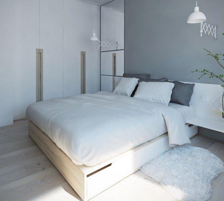 Couleur de peinture pour chambre moderne