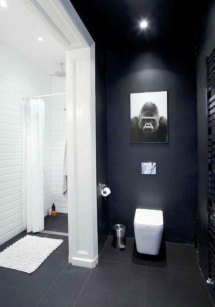 Peinture carrelage salle de bain couleur