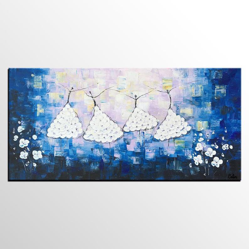 Peinture chambre danseuse