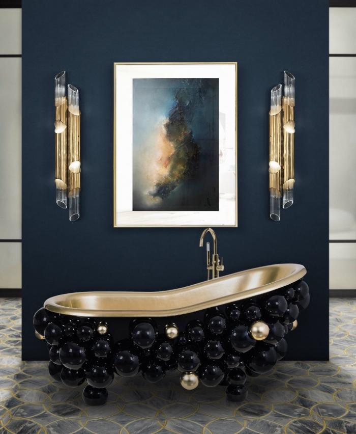 Peinture doré salle de bain