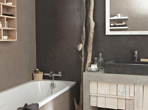 Peinture mat lessivable salle de bain