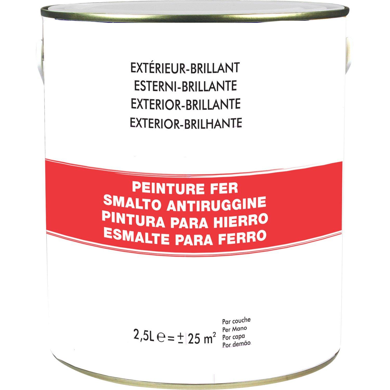 Peinture metal rouge leroy merlin