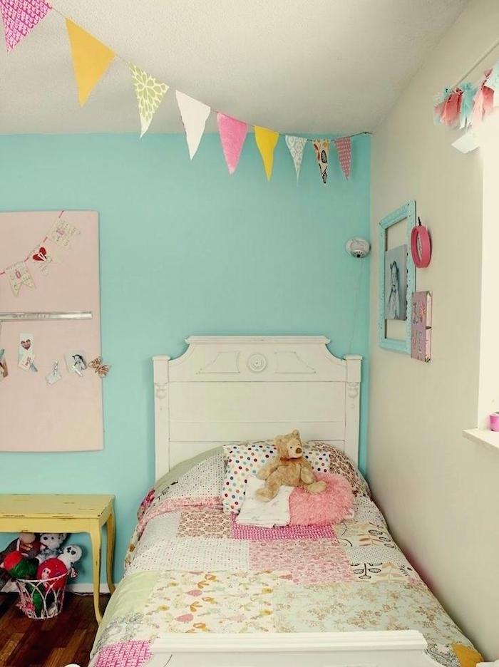 Couleur de peinture+chambre de petite fille