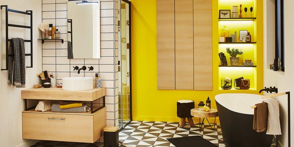 Peinture pour bois dans salle de bain